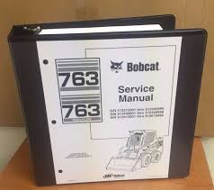 bobcat 763 763 libro manual de servicio hf skid steer 6900091