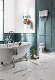 period bathroom ideas colour of the year 2017 teal blue walls in the bathroom ensure