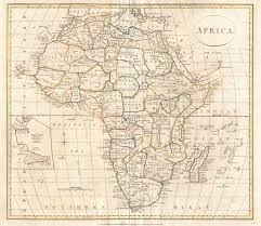 Labeled Map Of Africa by File 1799 Clement Cruttwell Map Of Africa Geographicus Africa