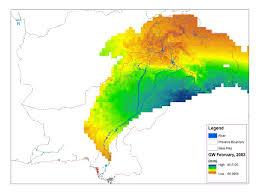 Data Map Nasa Data Used To Track Groundwater In Pakistan Uw News