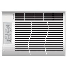 ge 5 000 btu 115 volt room window air conditioner ael05lv the