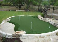 Backyard Putting Green Designs by Miniature Golf Course In The Backyard Of The Lbi House Http