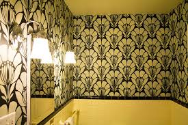 stenciled ceilings with metallic paint modern masters cafe blog