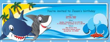 create shark birthday invitations ideas u2014 all invitations ideas