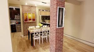 kitchen design overwhelming a tiny brick kitchen that has been