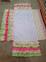 Shabby Chic Skirts by A Little Bolt Of Life Diy Ruffled Crib Skirt