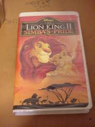 free lion king 2 simba u0027s pride vhs 1994 dvds