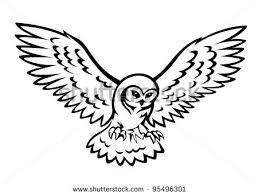 snowy owl clipart clipartxtras
