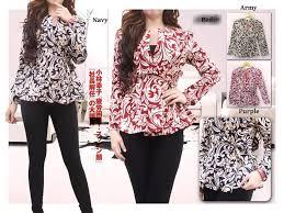 Baju Batik Batik model baju batik setelan wanita terbaru produk terbaru 20 november