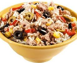 cuisine salade de riz salade de riz niçoise recette de salade de riz niçoise marmiton