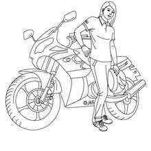 motorcycle coloring pages 6 coloring kids