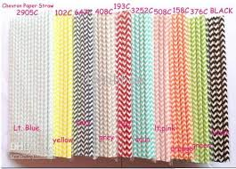 wedding supplies online wedding supplies 19 7cm chevron printed paper straw