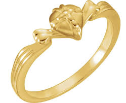 heart style rings images Chastity cross rings boomer style magazineboomer style magazine png