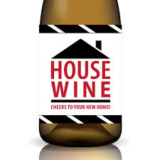 house wine cheers to your new home
