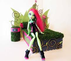 how to make a venus mcflytrap doll bed tutorial monster high