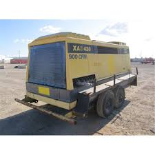 1989 atlas copco xas 430 dd t a towable air compressor