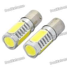 24v led light bulb high power 6w 6000k 500lm 4 led car white light bulbs dc 12 24v