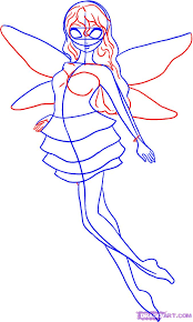 how to draw a pixie step by step fairies fantasy free online