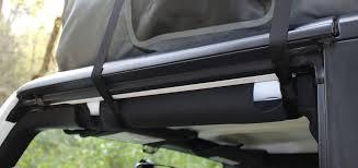 Rightline Gear Car Clips by Car Top Carrier Jeep Wrangler Hard Top Rightline Gear