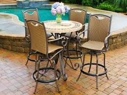Patio High Table And Chairs by Patio Table And Chairs Set Under Ground