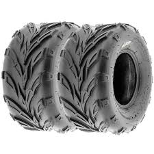 set pair of 2 sunf 20x10 10 20x10x10 atv quad tires 6 pr a004 ebay