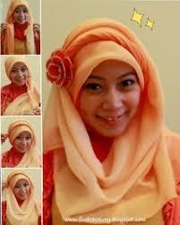 tutorial jilbab jilbab hijab jilbab tutorial with headband open the link for youtube