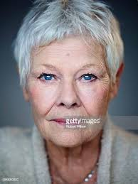 judi dench hairstyle front and back of head judi dench pictures and photos getty images
