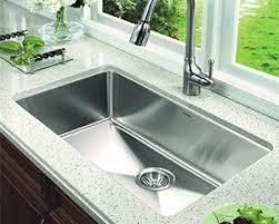 Granite Single Bowl Kitchen Sink Stylish Single Basin Kitchen Sink Modern Stainless Steel Cool For