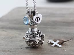 locket for ashes sterling silver cremation urn necklace cremation jewelry