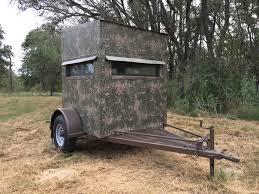 5x5 hunting trailer blinds atascosa wildlife supply texas deer