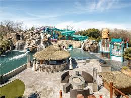 32m texas mansion has waterpark in ground trampoline in backyard