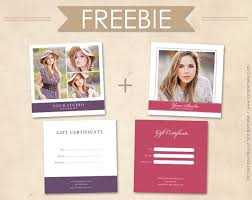free photography gift certificate template best template idea