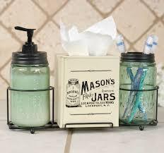 Bathroom Caddy Ideas by Mason Jar Bathroom Accessories Dact Us