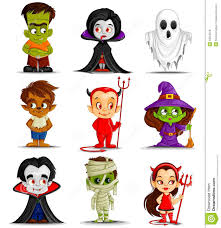 Monsters Halloween Costumes by Halloween Monsters Clipart U2013 Festival Collections