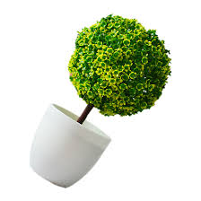 imitation plants home decoration artificial plants ball bonsai can washes decorative green plants