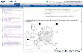 ford etis europe repair manual order u0026 download