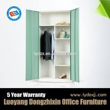 modern design bedroom furniture metal wardrobe modern design