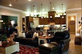 open kitchen living room design ideas open living room and kitchen designs modest kitchen to living room