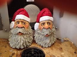 285 best carved santa images on santa ornaments