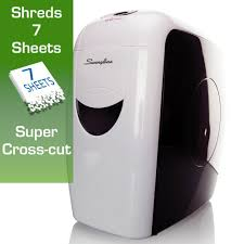 Home Paper Shredders by Amazon Com Swingline Paper Shredder 7 Sheets Super Cross Cut 1