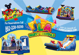 party rental companies rentals nj bounce house slide rentals nj