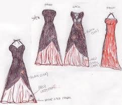 prom dresses sketches latest fashion style