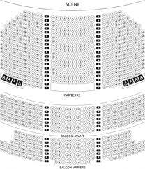 zenith plan salle montréal 2017 billet spectacle
