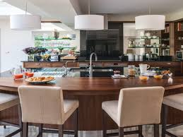 kitchen island bar ideas small kitchens curved breakfast norma