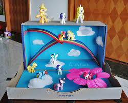 my little pony magical small world pony rainbows and plays