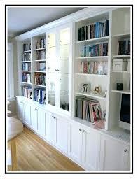 Corner Bookcases With Doors Corner White Bookcase Hercegnovi2021 Me