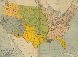 Map Of Mexico 1821 Exploration The Handbook Of Texas Online Texas State Historical