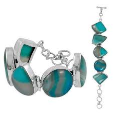 sterling silver bracelet designs images Secret design striped onyx sterling silver bracelet khalis chandi jpg