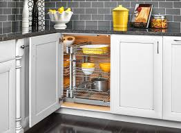 Corner Kitchen Cabinet Storage Decor Corner Kitchen Cabinet And Rev A Shelf Blind Corner