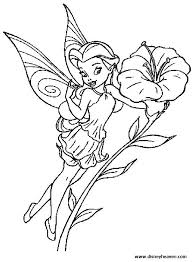 disney fairy silvermist coloring pages